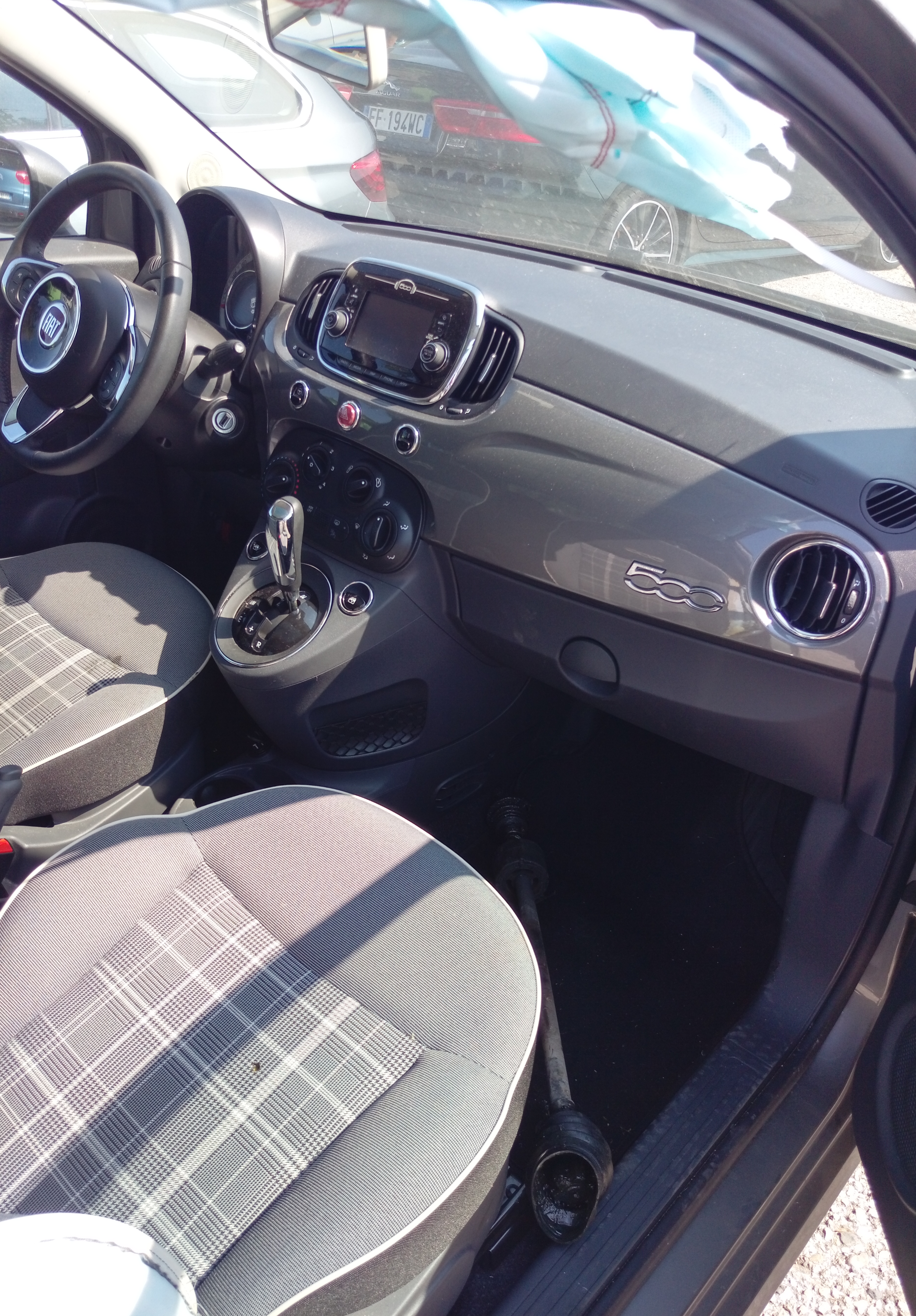 Fiat 500 1.2 benzina Lounge 70cv anno 03-2017