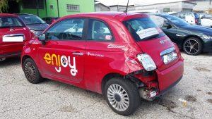 Il problema delle auto incidentate