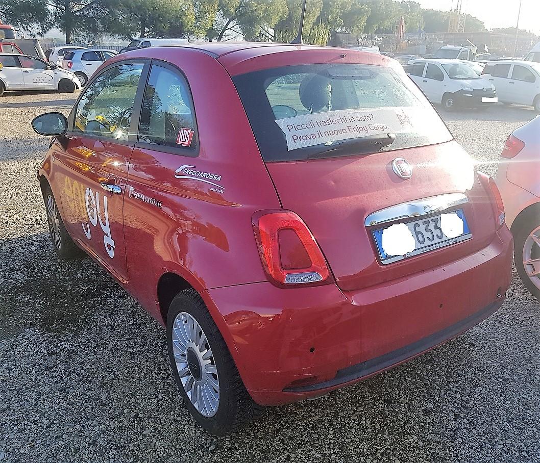 Fiat 500 1.2 benzina 70cv anno 05-2017