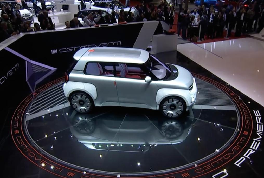 Nuova Fiat 500 L Elettrica Debuttera Al Salone Di Ginevra 2020