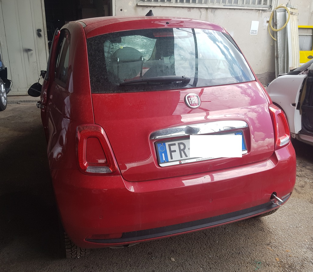 Fiat 500 1.2 benzina 70cv anno 09-2018