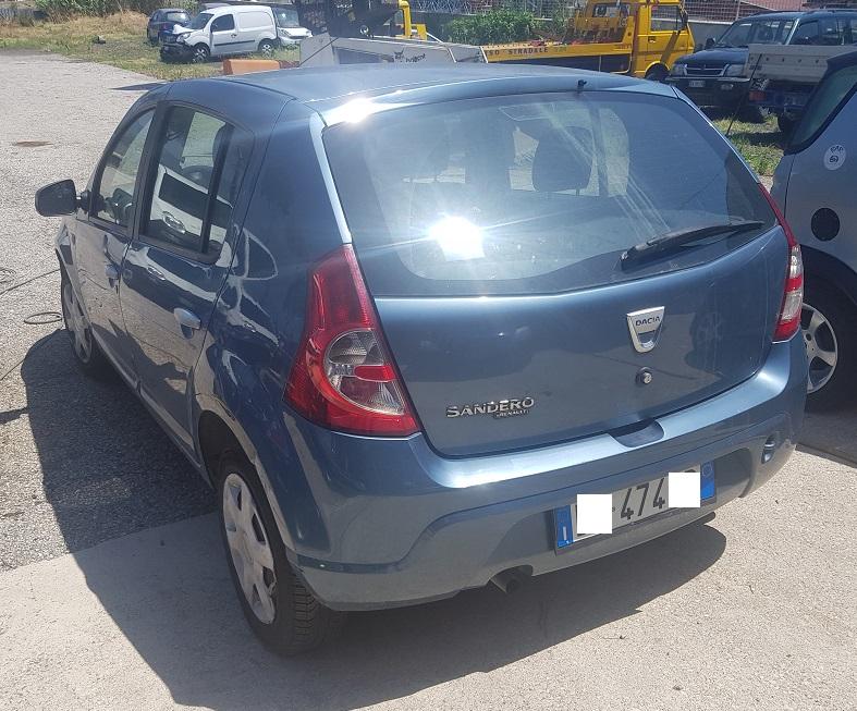 Dacia Sandero 1.4 benzina/GPL 75cv anno 12-2009