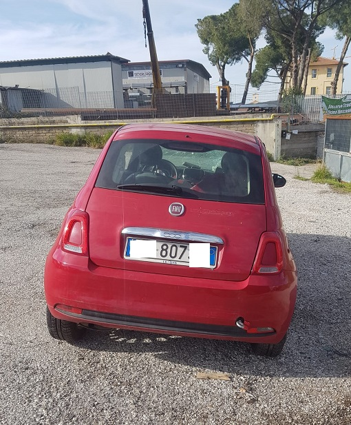 Fiat 500 1.2 benzina 70cv anno 09-2016