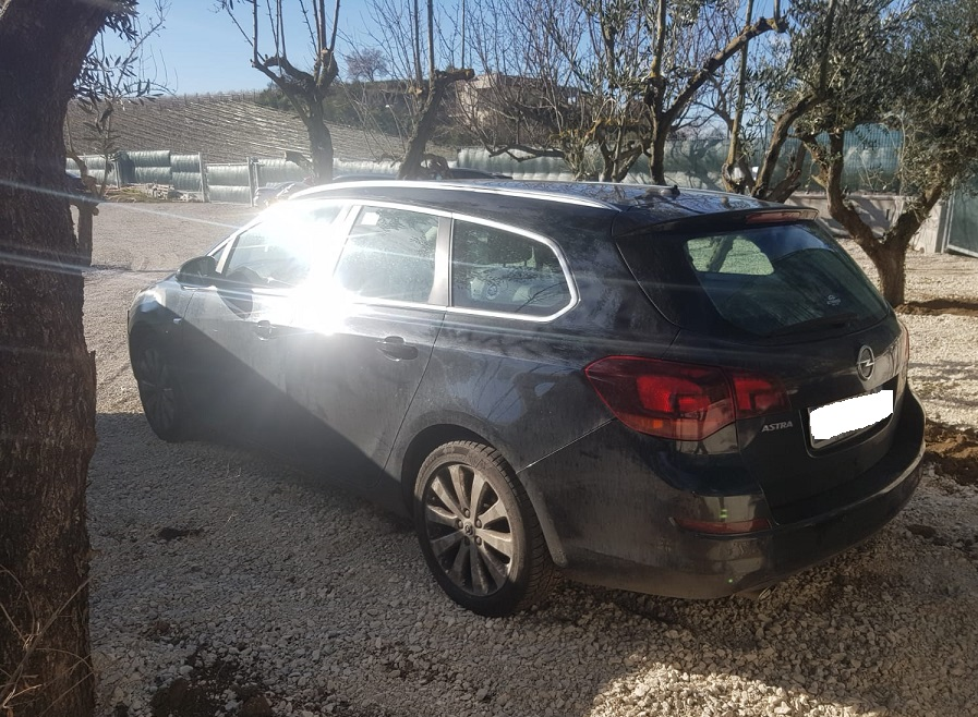 Opel Astra 1.4 benzina/GPL 140cv anno 06-2012